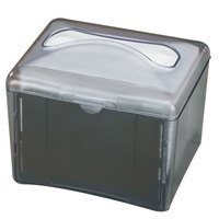 San Jamar H4003TBK Venue Tabletop Interfold Napkin Dispenser - Black Pearl