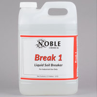 Noble Chemical 2.5 Gallon Break 1 Alkaline Laundry Soil Breaker   - 2/Case