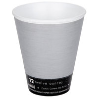 Dart 12U16FS Fusion Steele 12 oz. Foam Hot Cup - 1000/Case