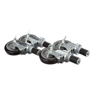 Krowne Metal Corporation 28-129S Casters - 4/Set