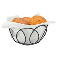 Cal-Mil 22009-13 6 1/2 inch Black Wire Bread Basket