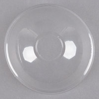 Solo DLR626 Clear Plastic Dome Lid with 1 inch Hole - 1000/Case
