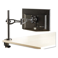 Fellowes 8041601 21 inch x 4 3/8 inch x 24 inch Black Adjustable Depth Monitor Arm