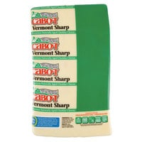 Cabot Vermont Sharp White Cheddar Cheese 10 lb. Block