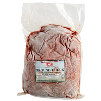 Warrington Farm Meats 5 lb. Frozen Ground Chuck Beef 85% Lean 15% Fat