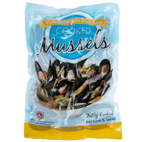 Foods From The Sea 1 lb. Whole Cooked Mussels - 10/Case