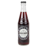 Boylan Bottling Co. 12 fl. oz. Black Cherry Soda 4-Pack - 6/Case