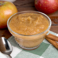Kime's 25 oz. No Sugar Added Applesauce - 12/Case