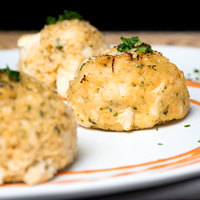 Kaptain's Ketch 3 oz. Extra Fancy Crab Cakes - 15/Case