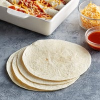 Father Sam's Bakery 12-Count 8 inch Flour Tortilla Wraps - 12/Case