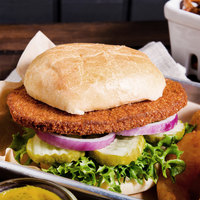 4 oz. Golden Breaded Veal Patties   - 40/Case