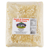 Kreider Foods 4 lb. Sweet & Creamy White Corn - 6/Case