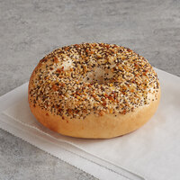 Original Bagel 4.5 oz. New York Style Everything Bagel - 75/Case