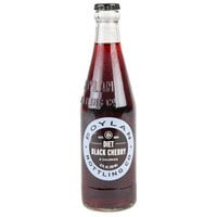 Boylan Bottling Co. 12 fl. oz. Diet Black Cherry Soda - 24/Case