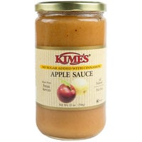 Kime's 25 oz. No Sugar Added Cinnamon Applesauce - 12/Case