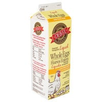 1 Qt. Fresh Liquid Whole Eggs - 15/Case