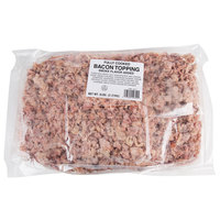 Patrick Cudahy 5 lb. Bag Fully Cooked Large Chopped 3/4 inch Bacon Pieces - 2/Case