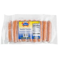 Kunzler 5 lb. Pack Fully Cooked Smoked Sausage - 2/Case
