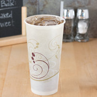 Solo RS22N-J8000 Symphony 22 oz. Wax Treated Paper Cold Cup - 50/Pack