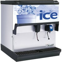 Servend 2705515 S200 Countertop Ice and Water Dispenser - 200 lb. Ice Storage Capacity
