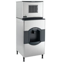 Scotsman C0330MA-1D Prodigy Plus Series 30 inch Air Cooled Medium Cube Ice Machine with 180 lb. Dispenser - 400 lb.
