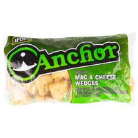 McCain Anchor Battered Mac and Cheese Wedges 3 lb. Bag - 6/Case