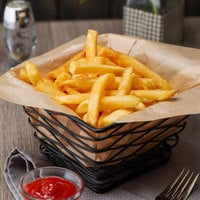 5 lb. 3/8 inch Straight Cut French Fries - 6/Case