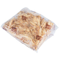 McCain Foods Skin-On Brew City 1/4 inch Beer Battered Maxi Fries 5 lb. Bag - 6/Case