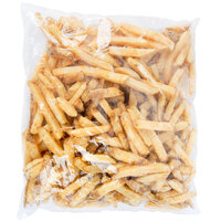 Jersey Shore Fry Company 1/2 inch Skin-On Thick Cut Boardwalk Fries 4.5 lb. Bag - 6/Case