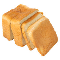 European Bakers 24-Slice White Bread Loaf - 10/Case
