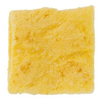 3 inch Fully-Cooked Square Scrambled Egg Patty - 180/Case