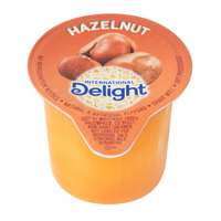International Delight 0.5 fl. oz. Non-Dairy Hazelnut Coffee Creamer - 288/Case