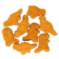 Perdue 5 lb. Bag Dinosaur Shaped Chicken Breast Nuggets - 2/Case