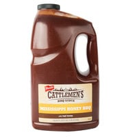 Cattlemen's 1 Gallon Mississippi Honey Barbecue Sauce - 4/Case
