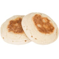 Thomas' 1 Dozen 3 1/2 inch Original Fork Split English Muffins - 6/Case