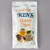 Ken's Foods 1.5 oz. Fat-Free Dijon Honey Mustard Dressing Packet - 60/Case