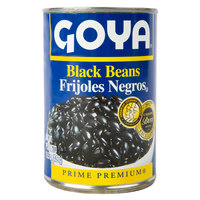 Goya 15.5 oz. Premium Black Beans - 24/Case
