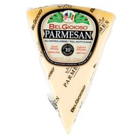 BelGioioso 8 oz. Parmesan Cheese Wedge - 12/Case