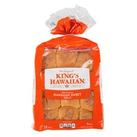 King's Hawaiian 12-Pack Original Hawaiian Sweet Dinner Roll - 12/Case