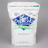 Blue Diamond 2 lb. Raw Sliced Almonds