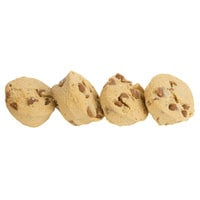 David's Cookies 1.5 oz. Preformed Peanut Butter with Peanut Butter Chips Cookie Dough - 213/Case