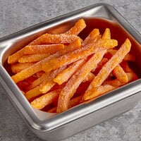 McCain 2.5 lb. Harvest Splendor 5/16 inch Extra Long Thin Sweet Potato Fries - 6/Case