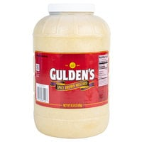 Gulden's 1 Gallon Spicy Brown Mustard - 4/Case