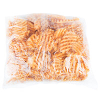McCain Foods Skin-On Redstone Canyon Waffle Fries 4.5 lb. Bag - 6/Case