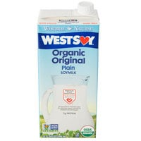 Westsoy 32 oz. Organic Original Soymilk - 12/Case