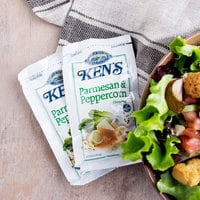Ken's Foods 1.5 oz. Select Parmesan and Peppercorn Dressing Packet - 60/Case