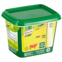 Knorr Beef Base 1 lb. Container - 12/Case