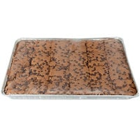 David's Cookies Chocolate Chip Brownie Bars 4 oz. 24-Count Tray - 2/Case