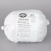 Hatfield 3 lb. Finely Ground Pork - 6/Case