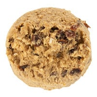 David's Cookies 4.5 oz. Preformed Oatmeal Raisin Cookie Dough - 80/Case